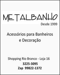 Metalbanho Acessórios para Banheiros e Decoração