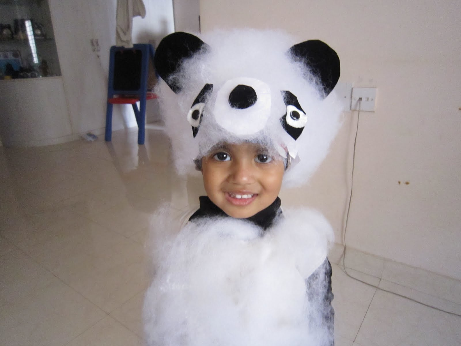 for kids  wild animals day   home made mask and costume