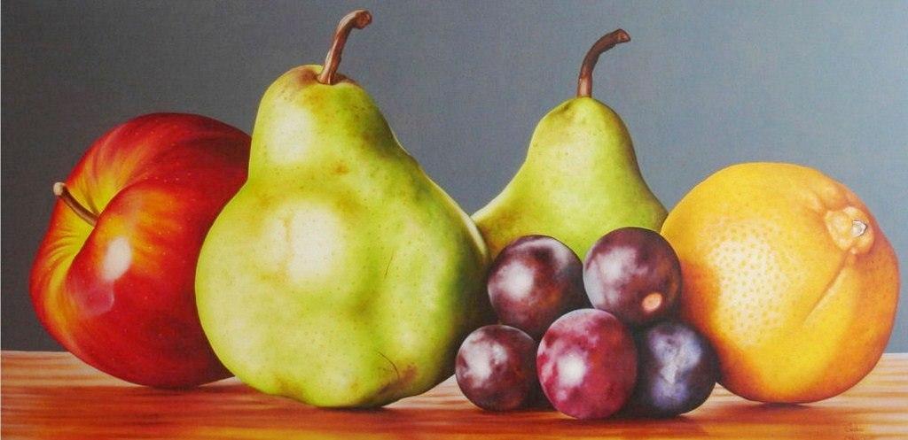Im genes arte pinturas arte decorativo bodegon con frutas - Pinturas bodegones modernos ...