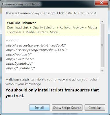colocar botão de download youtube
