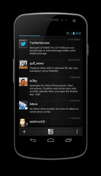 Aplikasi Twitter Asik untuk Android Freak