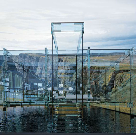 """مجموعة العجائب ل (zein alabdeen) تقدم لكم (البيت الزجاجي """" لا مكان للأختباء من الجيران '' جدران زجاج Santambrogio-glass-house-cube-2-1"""