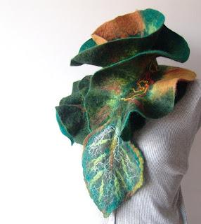 валяние, валяние войлока, валяные шарфы, валяный шарф, купить шарф, ручная работа
