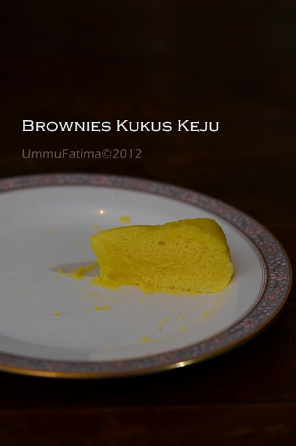 brownies kukus keju