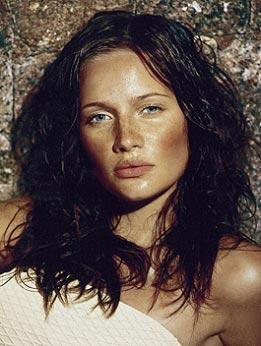 Maquillaje efecto piel quemada por el sol