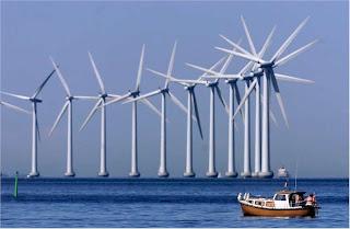 molinos eolicos marinos