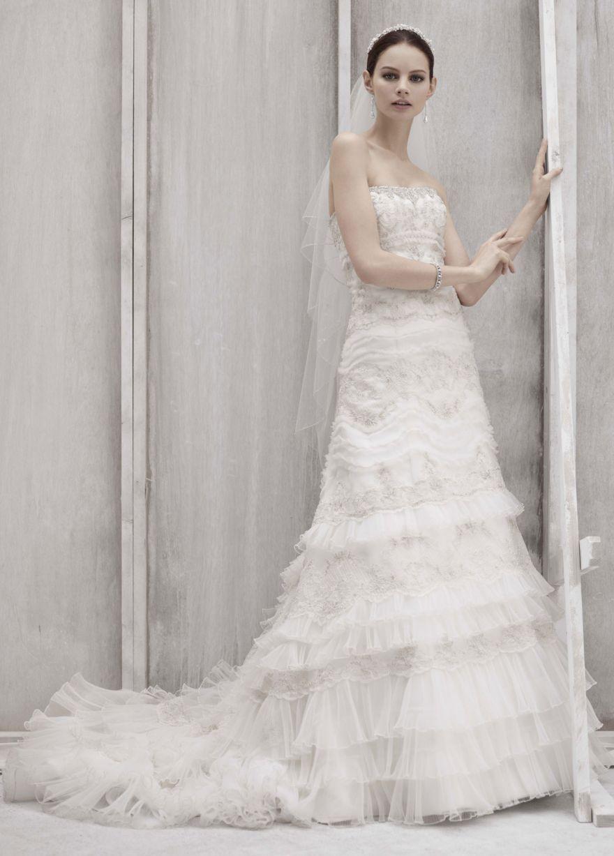 Vintage Hochzeits-Kleid-Muster