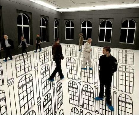 Optical Illusion Artists Famous Artist's Optical Illusion