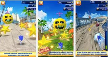 Descarga Sonic Dash para tu teléfono con Android gratis