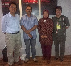 With Bapak Ir.Luki Abdullah & Team IPB (Pembicara Tamu)