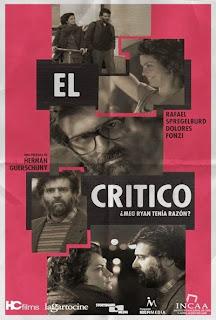 ver pelicula El crítico, El crítico online, El crítico latino