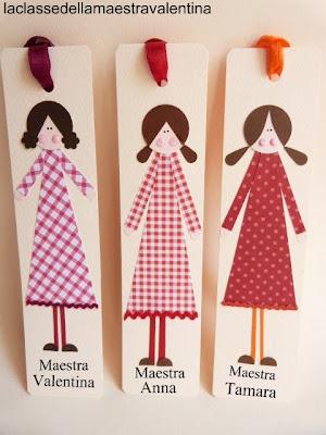 La classe della maestra valentina un segnalibro per ogni for La classe della maestra valentina primavera