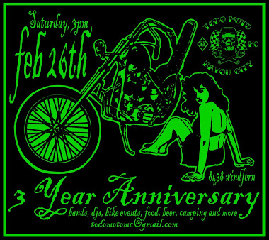 Todo Moto 3 year Anniversary Party
