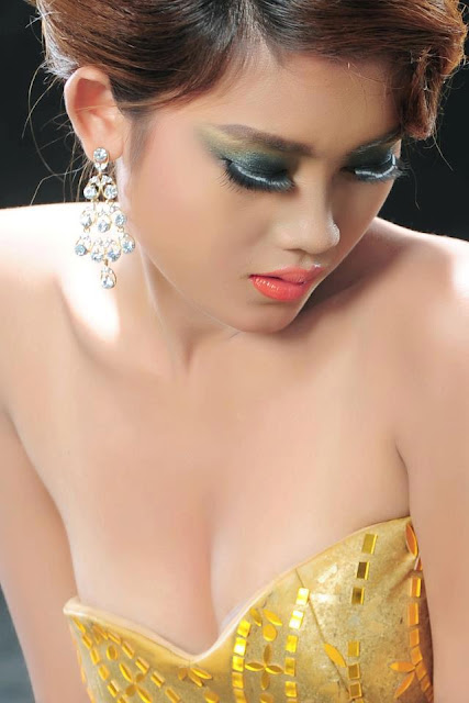 thuzar mg, myanmar sexy model girl