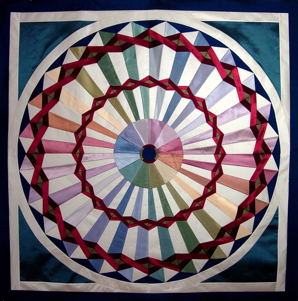 Quilt Inspiration: Tie Quilts And Peppermint Pinwheels
