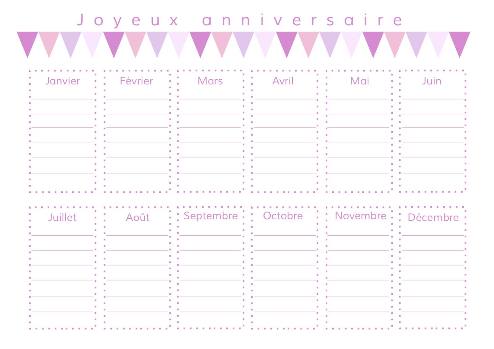 calendrier danniversaires et de ftes pour les fans de ninja sur calendrier anniversaire de mariage www - Calendrier Noce De Mariage