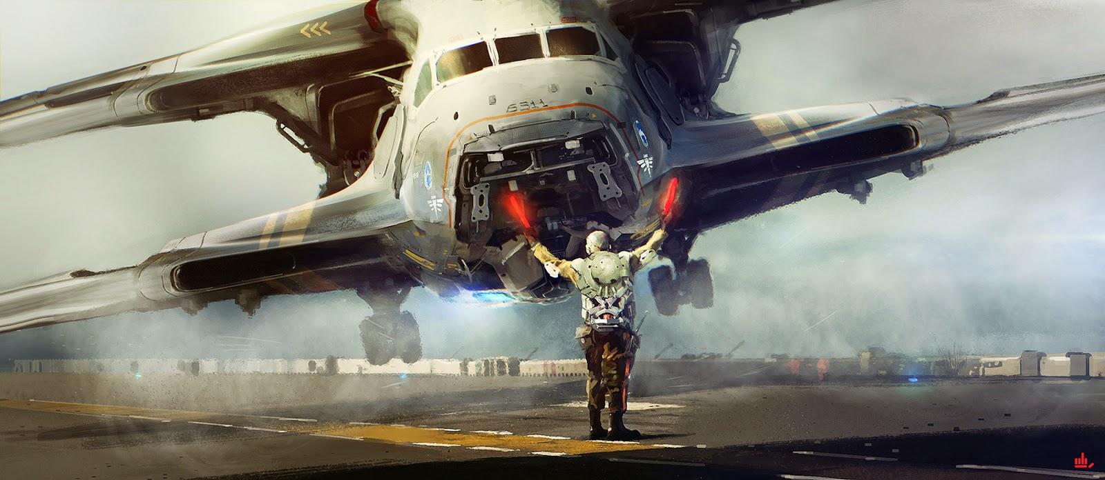 broken space ship - photo #36