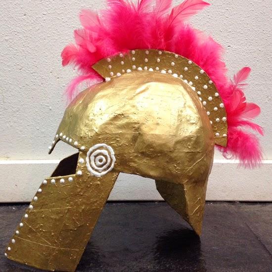 Lena Sekine: Athena's helmet How To Make Athenas Helmet