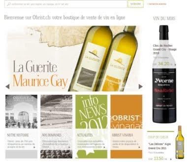 Obrist - Vins en ligne