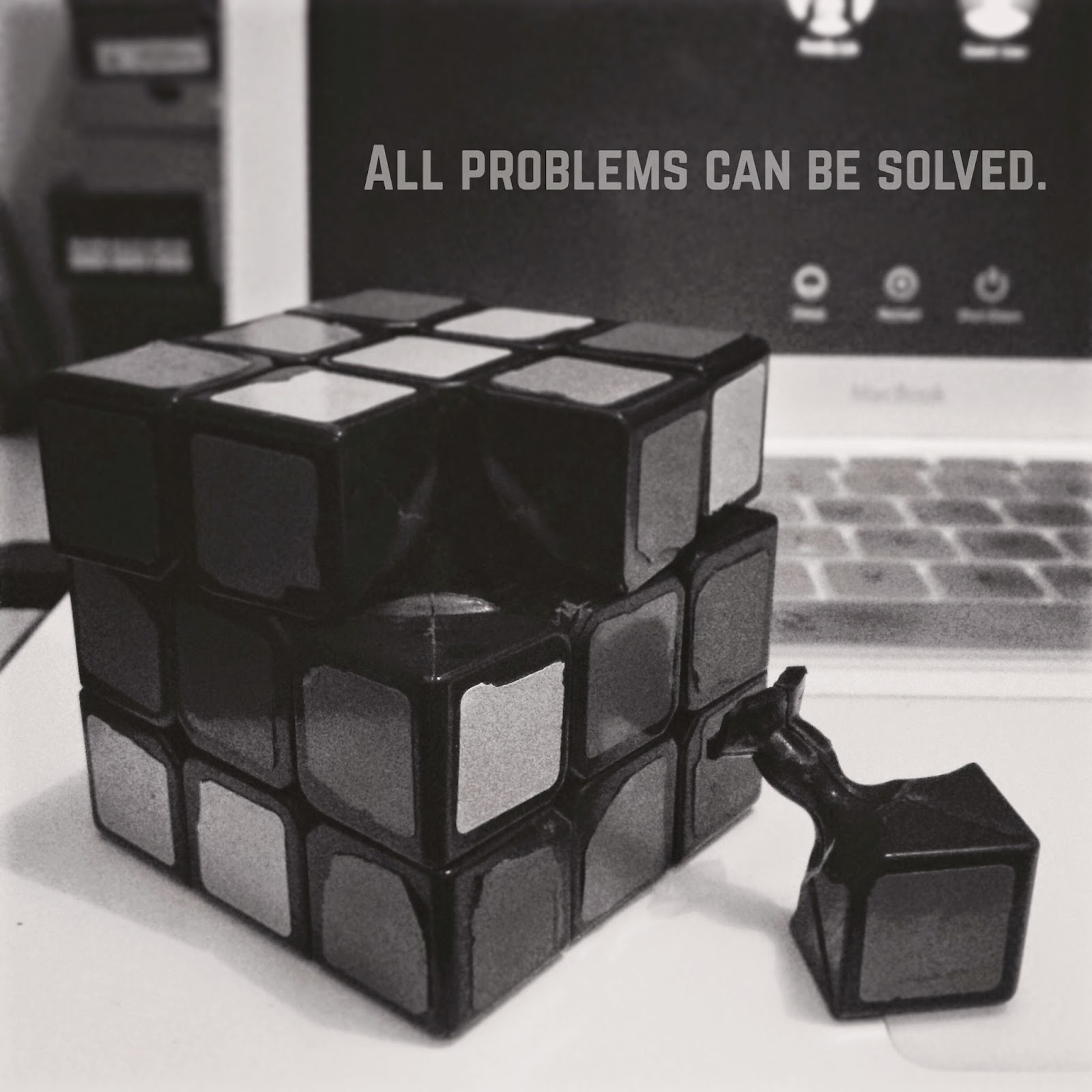 All problems can be solved