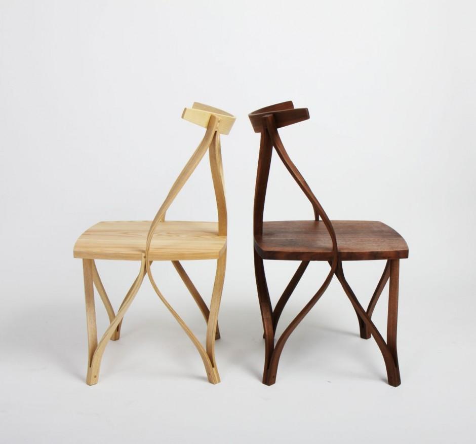 Furniture Steam Bentwood Chairs by Dohoon Kim Korean Designer