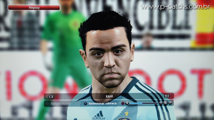 Face do Xavi no PES 2014