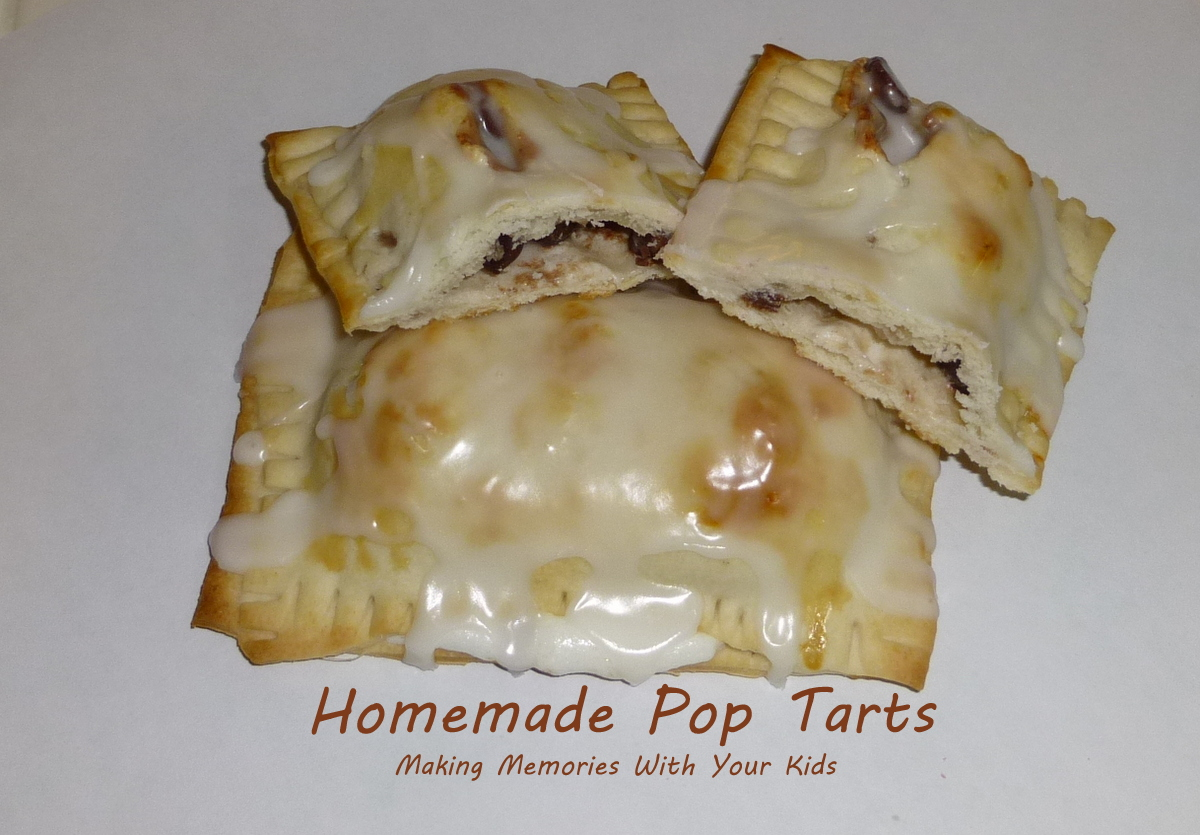 Homemade Pop Tarts - Making Memories With Your Kids
