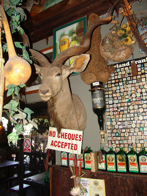 Joe's Beerhouse Windhoek, Namibia