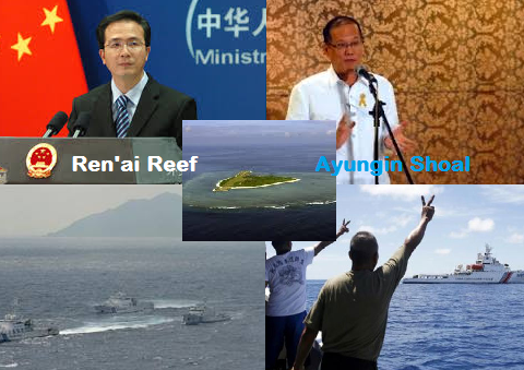 China Warns Philippines for its Provocative Actions about Ayungin Shoal.