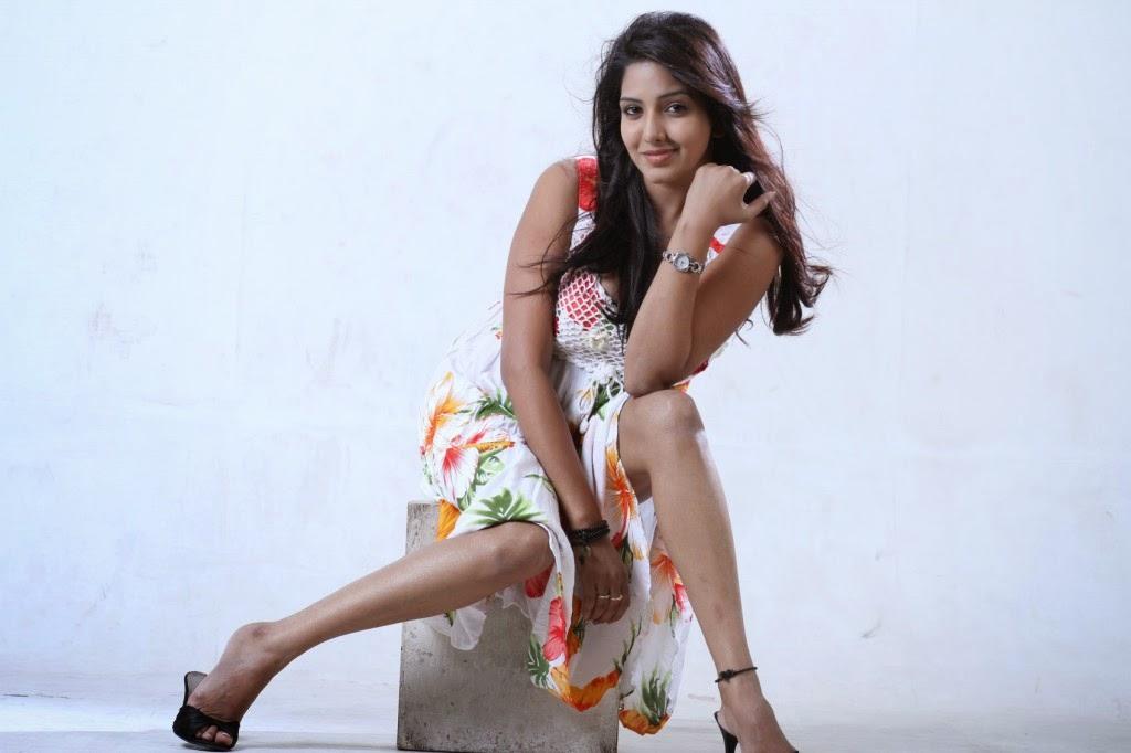 Vajram Movie Heroin Pavani Reddy Half Saree Photos