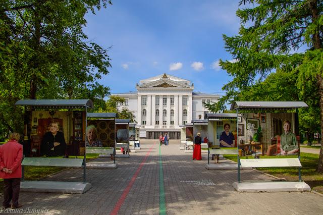 Путешествия: Театр оперы и балета Пермь