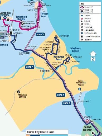CairnsBlognet Sunbus is rather cloudy as new timetables hit the