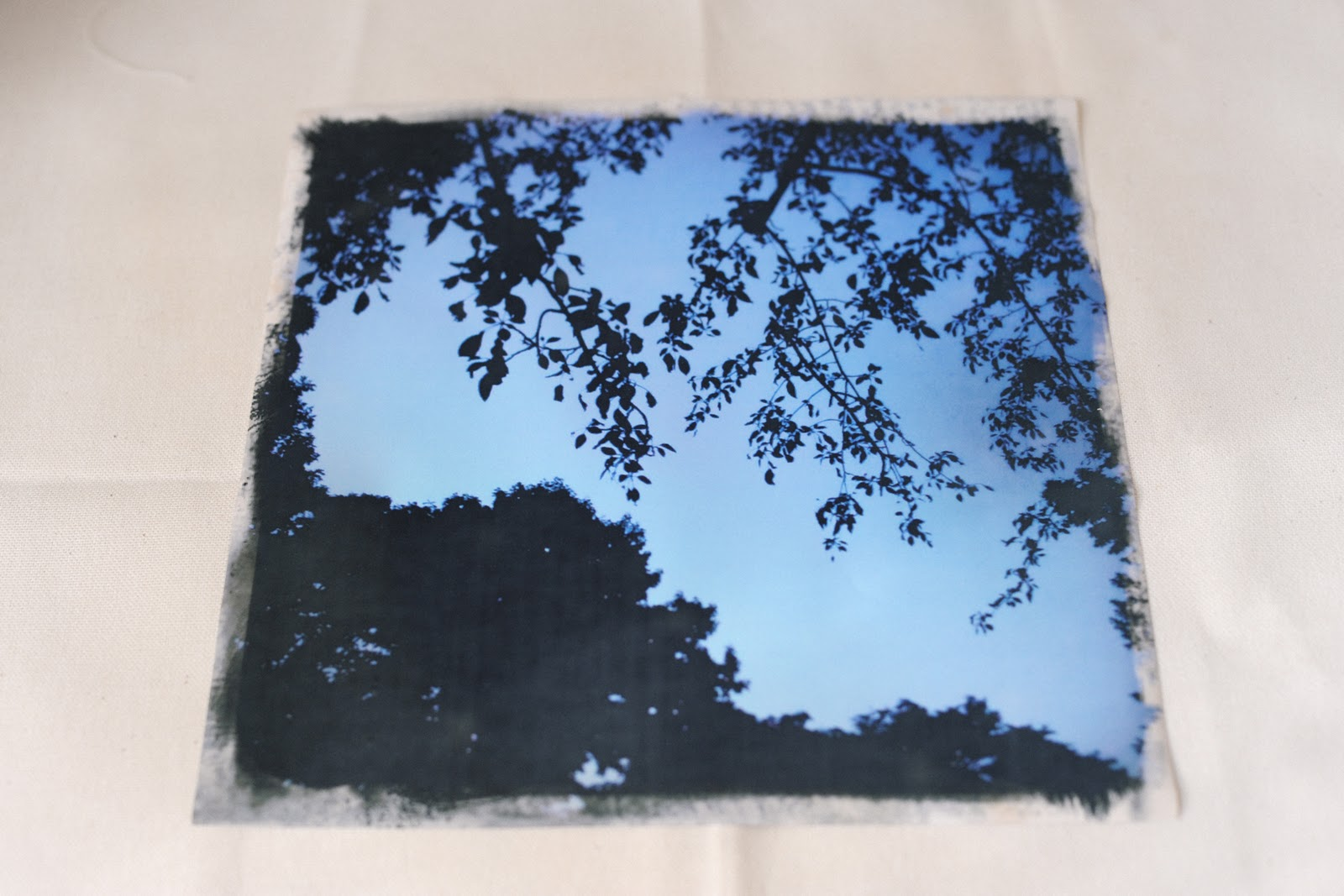 DIY Wood Slice Photo Transfer Parental]