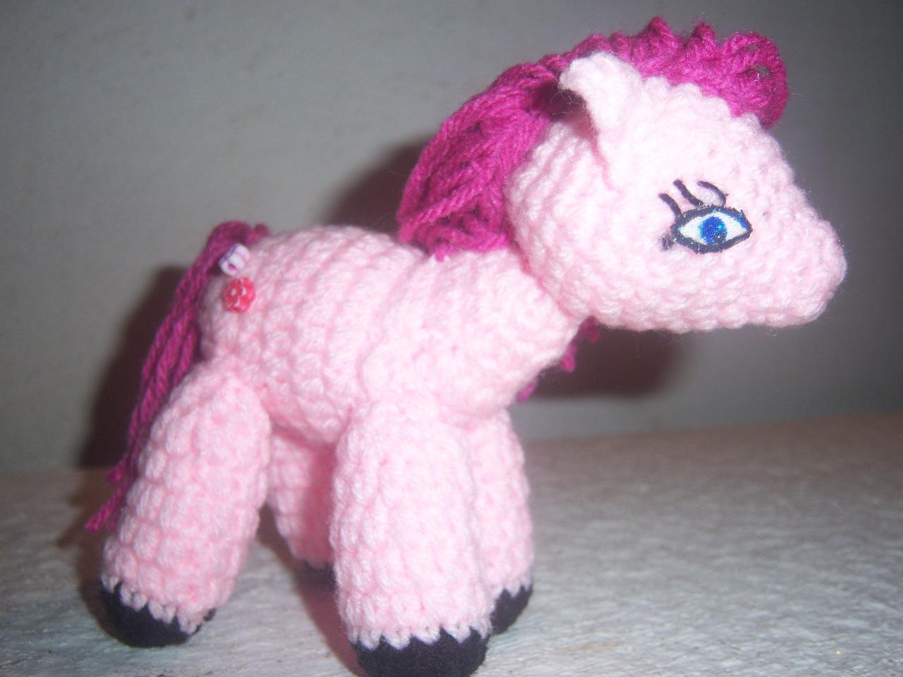 Amigurumi Pequeno Pony : Rume Crochet: Un pequeno pony muy tierno.