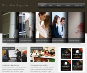 Stavrolino Magazine WordPress Theme