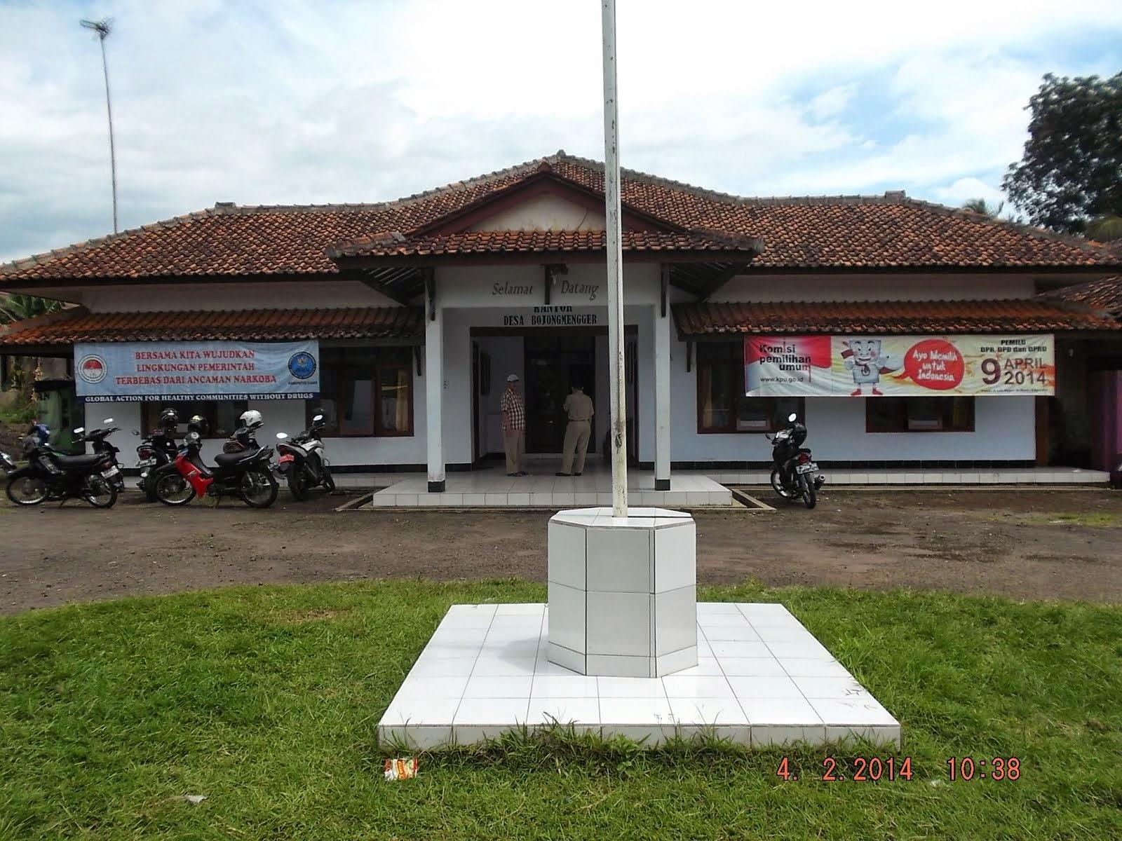 Kantor Desa Bojongmengger