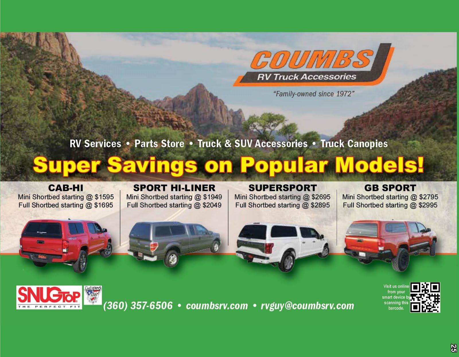 Coumbs RV Truck Accessories