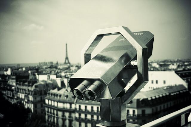 Sur les toits de Paris - Terrasse Printemps Haussmann