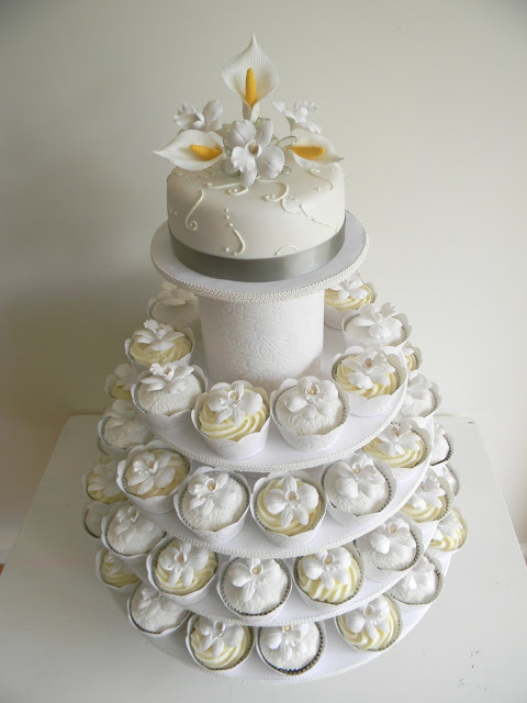 Wedding Cake Designs: Wedding Cupcakes