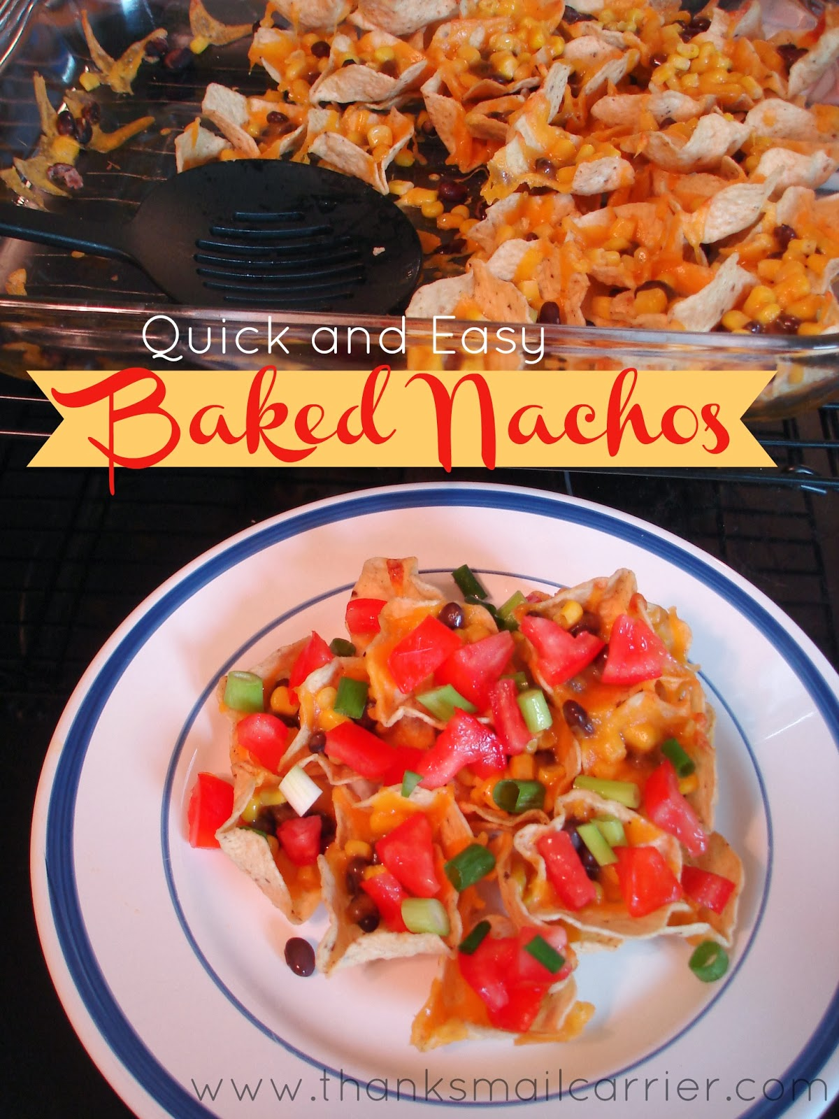 Baked Nachos recipe