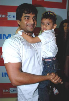 Actor Madhavan family Photos