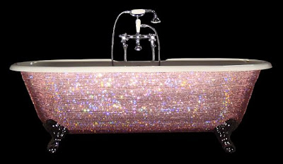 The $39,000 Diamond Bathtub