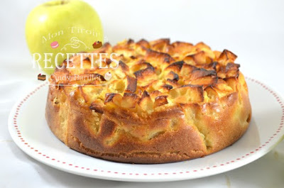 gâteau aux pommes sans gluten