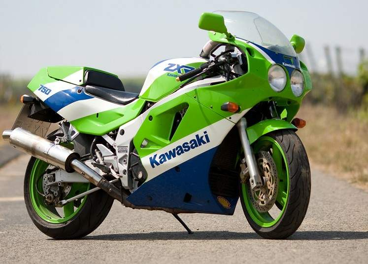 Historia de la mitica Kawasaki ZXR 750   De todo para tod s