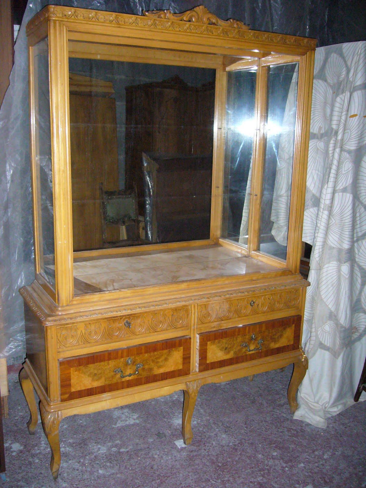 Muebles Patinados Tres Verdes La Restauradora De La Laguna # Muebles Reformados Antes Y Despues