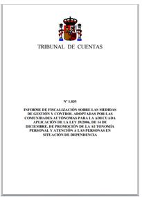 Informe del Tribunal de Cuentas nº 1035