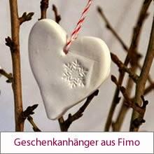 Geschenkanhänger aus Fimo