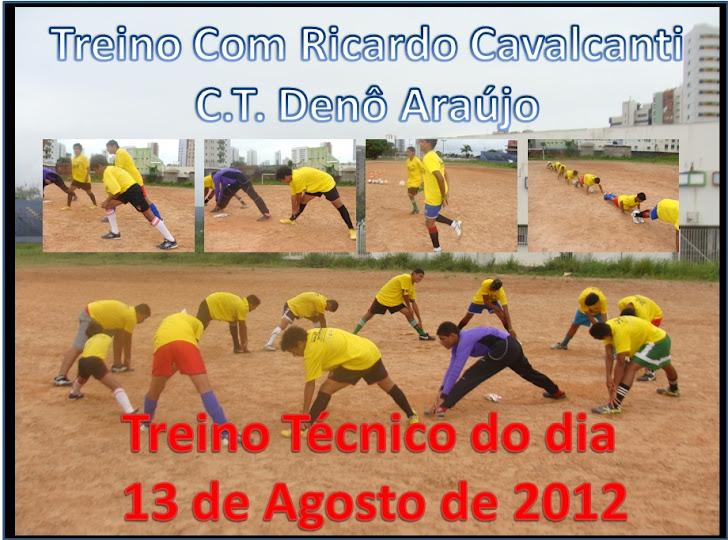 Treino Perna Fraca e jogo 3 Campos