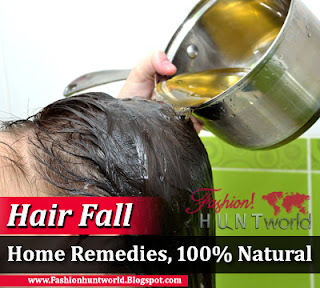 Hair Fall Home Remedies | Stop Hair Loss Naturally
