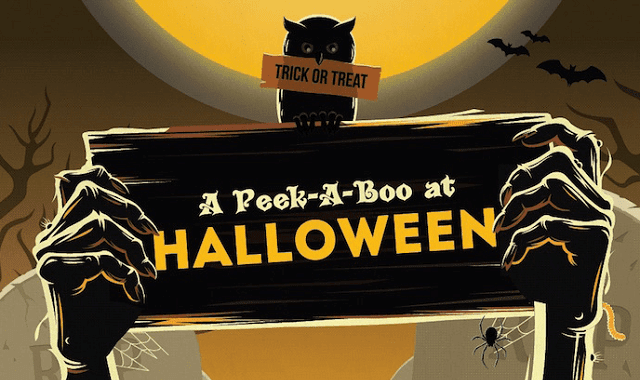 A Peek-A-Boo at Halloween